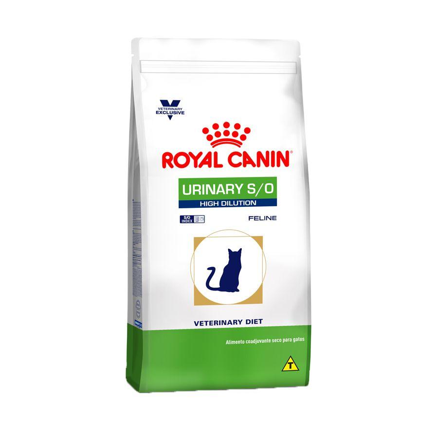 Ração Royal Canin Veterinary Urinary S/O High Dilution - Gatos Adultos 1,5kg