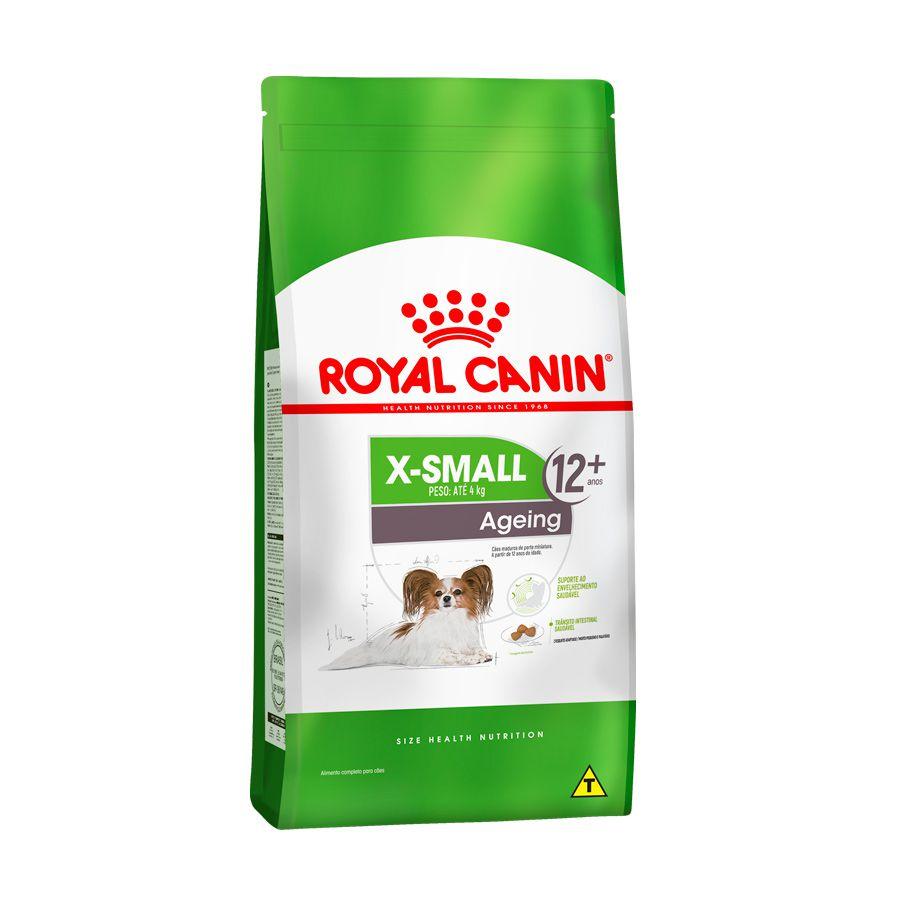 Ração Royal Canin X-small 12+ Cães Adultos 2,5kg