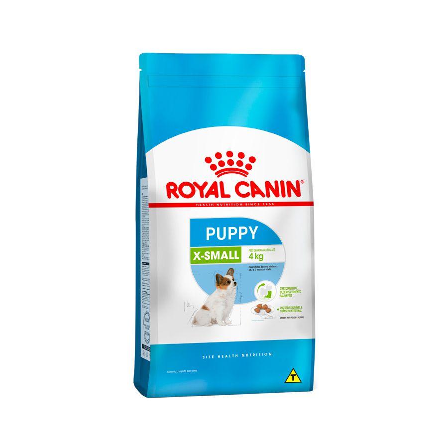 Ração Royal Canin X-small - Cães Filhotes 2,5KG