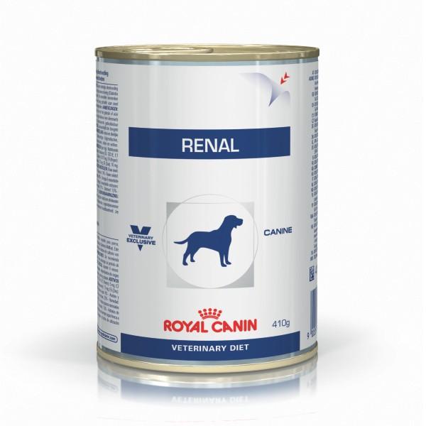 Ração Úmida Royal Canin Lata Veterinary Renal - Cães Adultos - 410g