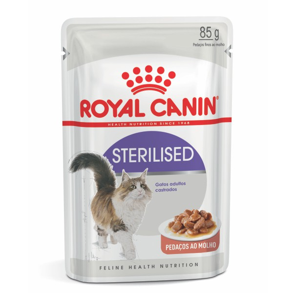 Ração Úmida Royal Canin Sachê Sterilised - Gatos Adultos - 85g