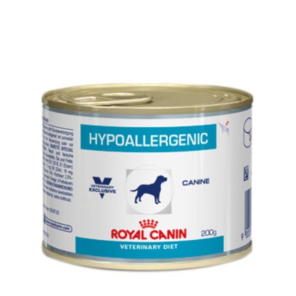 Ração Úmida Royal Canin Veterinary Hypoallergenic - Cães Adultos 200g