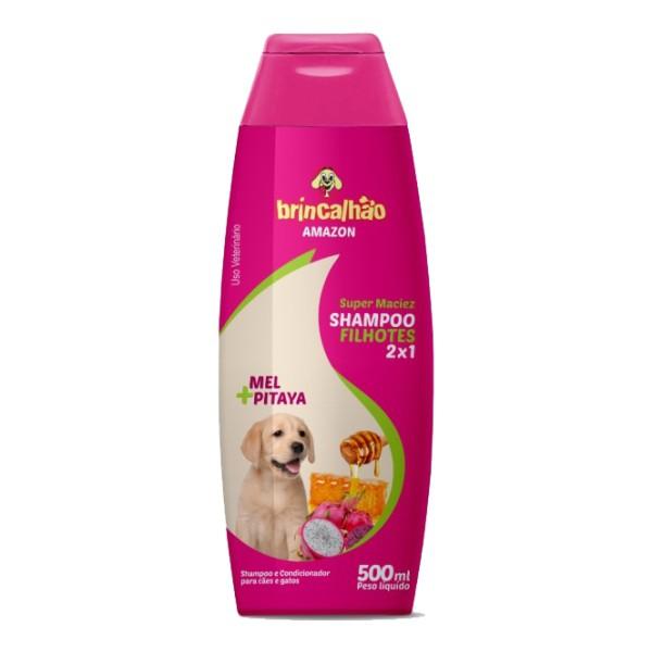 Shampoo para Cachorro e Gatos - Mel e Pitaya 500 ml