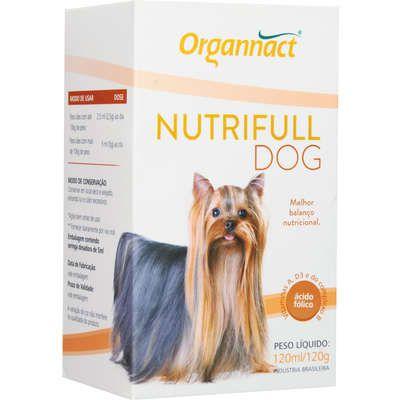 Suplemento Vitamínico Organnact Nutrifull Pet Frasco 120ml