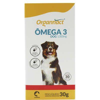Suplemento Vitamínico Organnact Omega 3 Dog 1000