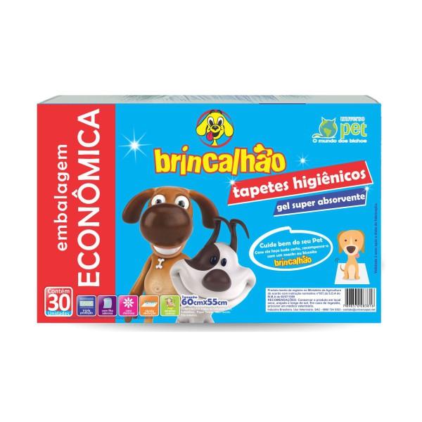 Tapete Higienico Brincalhao C/30 Und(60x55)