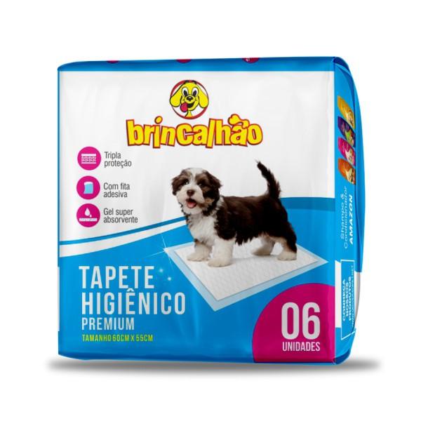 Tapete Higiênico Premium Brincalhão - 6 unid.