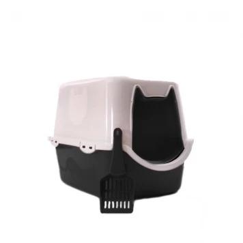 Toalete Duracats Banheiro Para Gatos - Preto