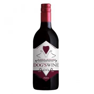 Vinho Para Cães Dog's Wine Sabor Carne 250ml
