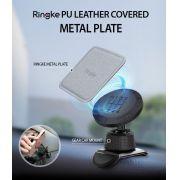 Kit 2x Placas de Metal Ringke  : Quadrada + Redonda