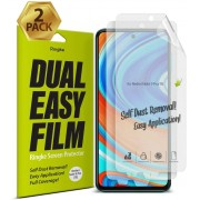 Película Ringke Dual Easy Full - Pack 2x - Xiaomi Redmi Note 9s / Note 9 Pro