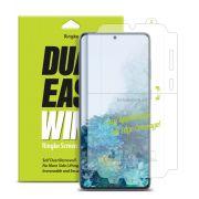 Película Ringke Dual Easy Wing Full - Samsung Galaxy S20 (Tela 6.2) - Pack c/ 2 unidades