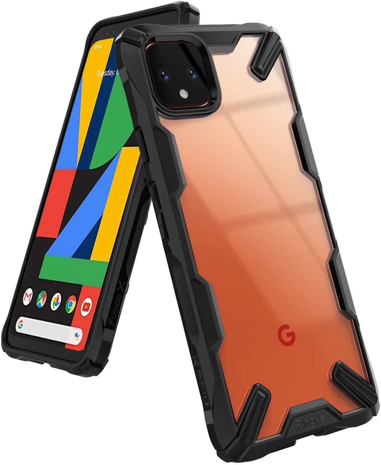 Capa Rearth Ringke Fusion X - Google Pixel 4 (Tela 5.7)
