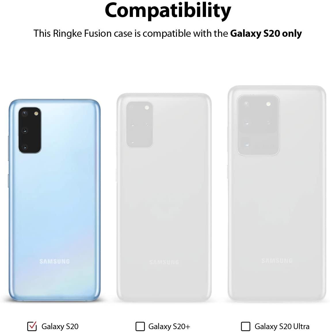 Capa Ringke Fusion - Samsung Galaxy S20 (Tela 6.2)