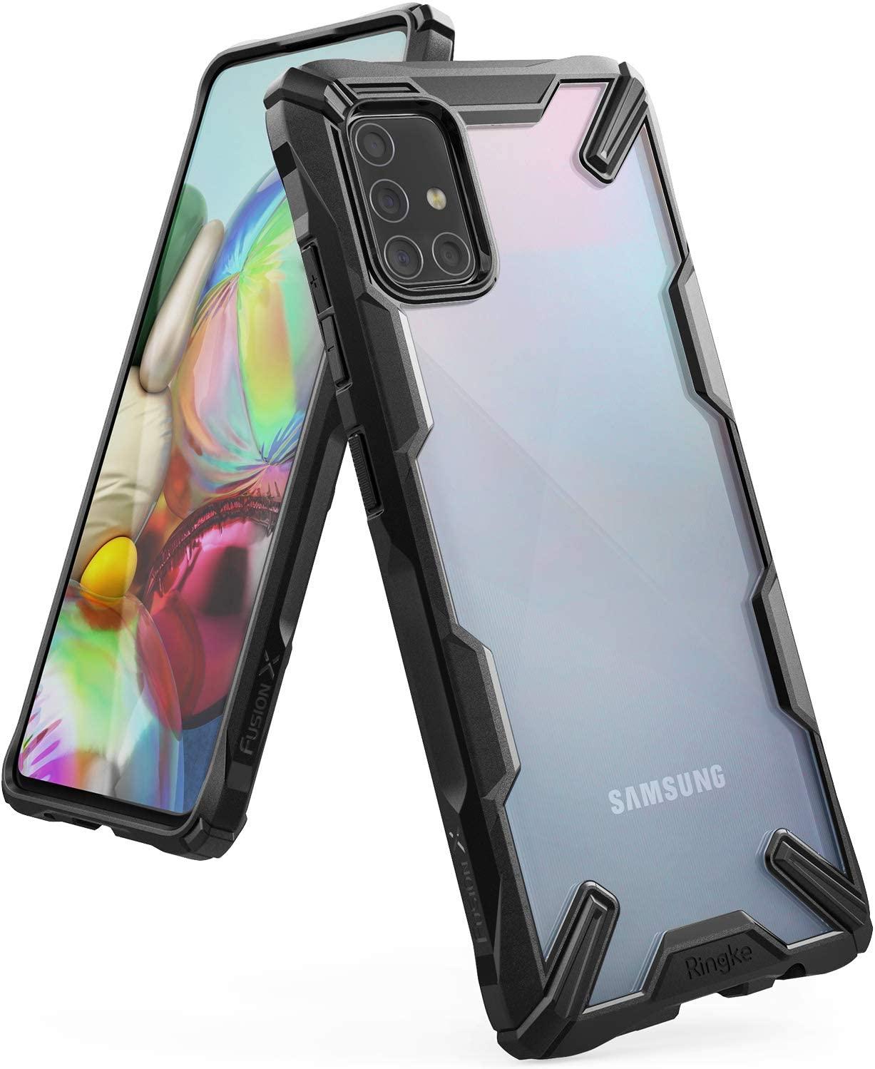 Capa Ringke Fusion X - Samsung Galaxy A71
