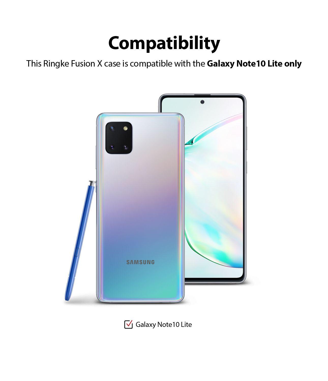 Capa Ringke Fusion X - Samsung Galaxy Note 10 Lite (Tela 6.7)