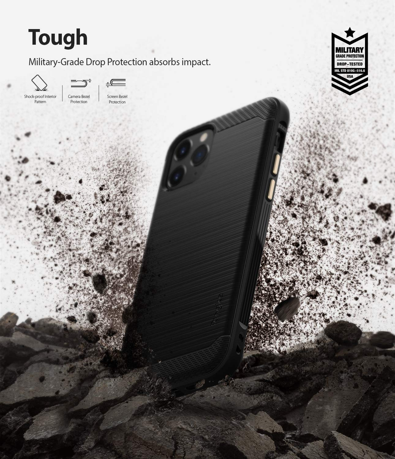 Capa Ringke Onyx - Apple iPhone 11 Pro Max (Tela 6.5)