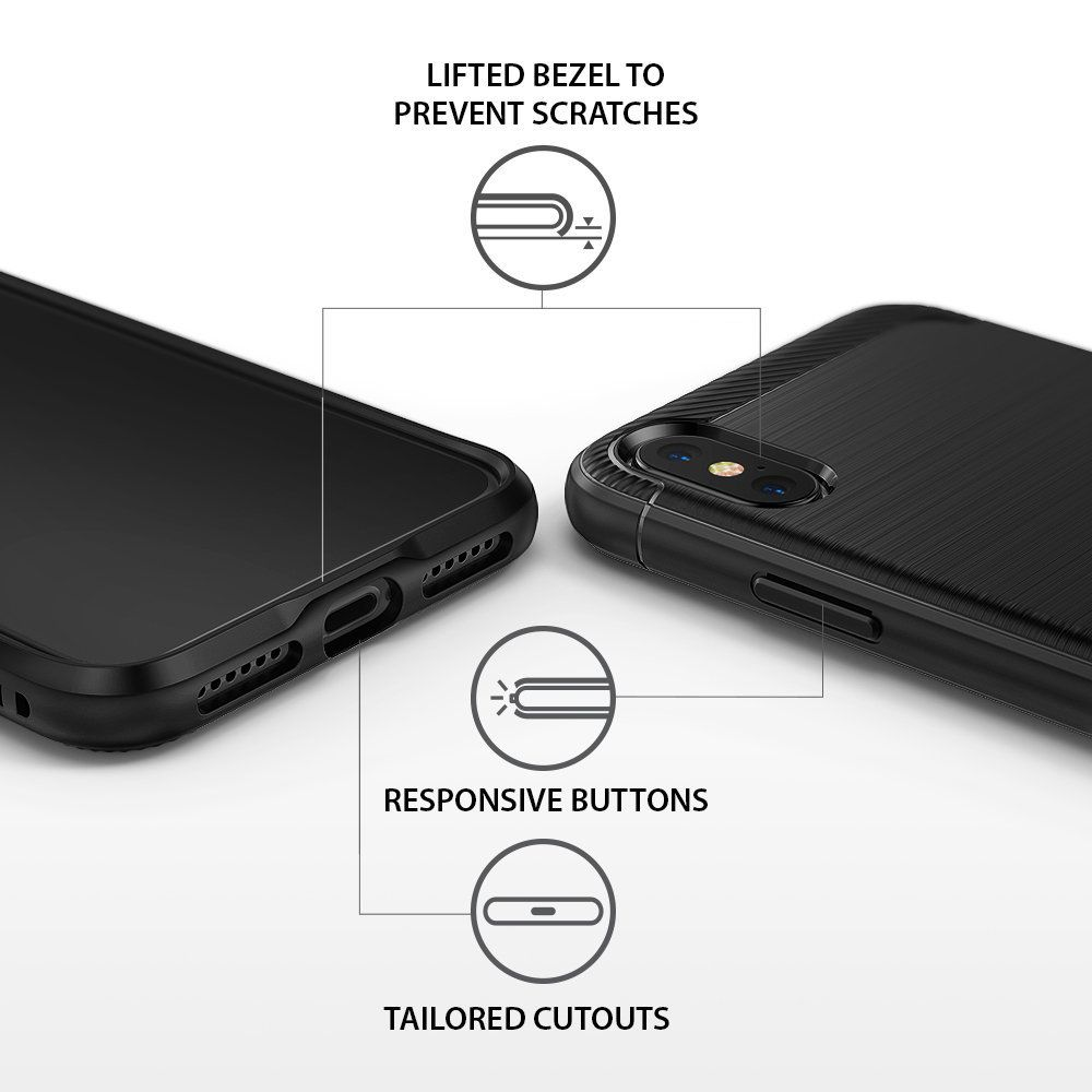 Capa Ringke Onyx - Apple iPhone X / Iphone XS