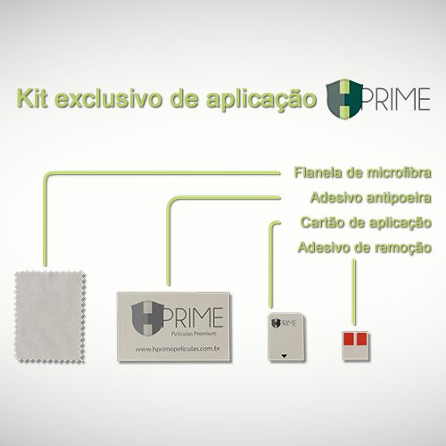 Película Hprime Curves Pro - Verso - Apple iPhone 11 Pro (5.8)