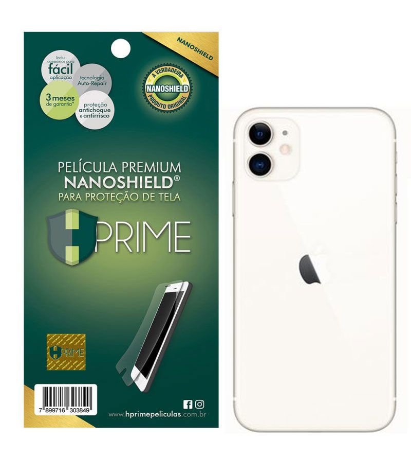Película Hprime NanoShield - Verso - Apple iPhone 11