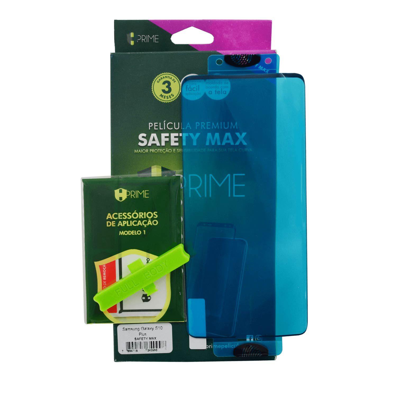 Película Hprime Safety Max - Samsung Galaxy S10 Plus