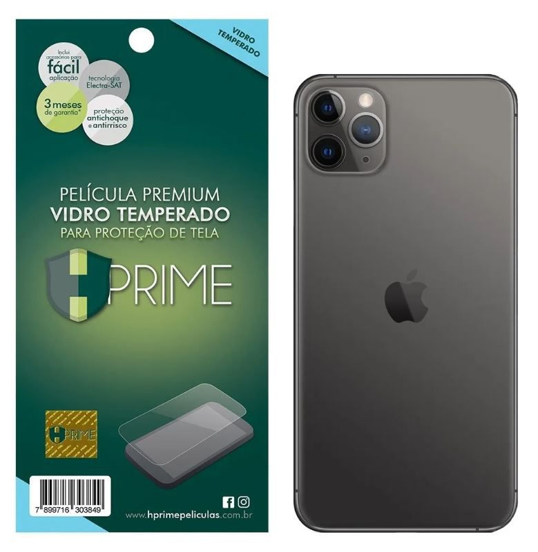 Película Hprime Vidro Temperado - Verso - Apple iPhone 11 Pro (5.8)