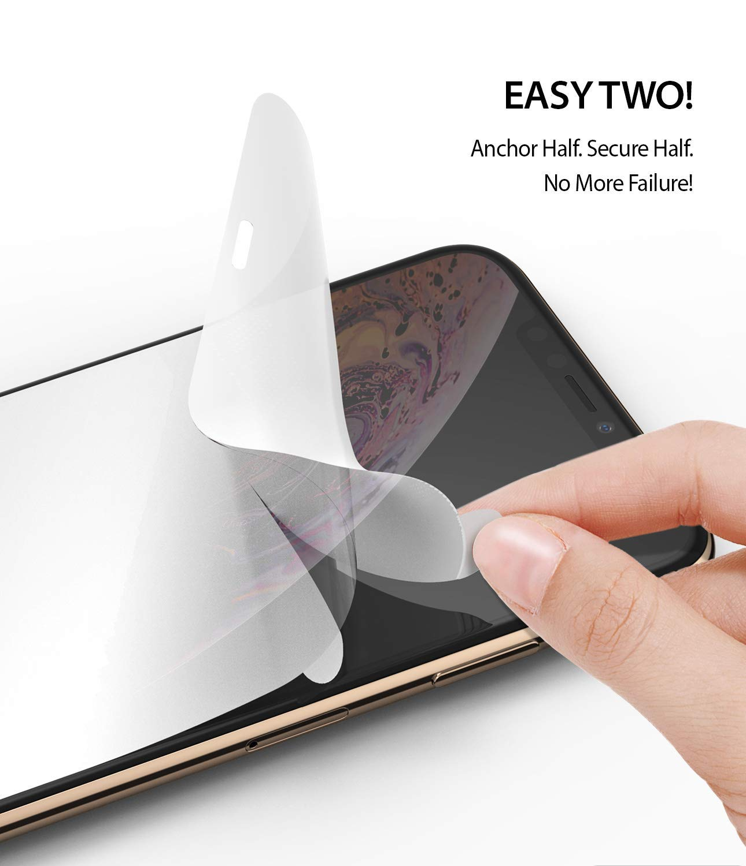 Película Ringke Dual Easy - Pack 2x - Apple iPhone XS Max