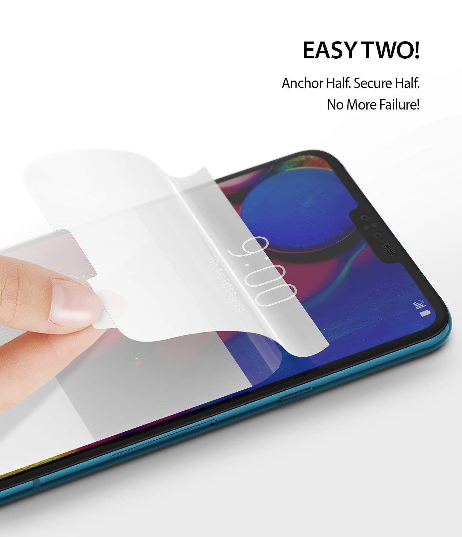 Película Ringke Dual Easy - Pack 2x - LG V40 ThinQ