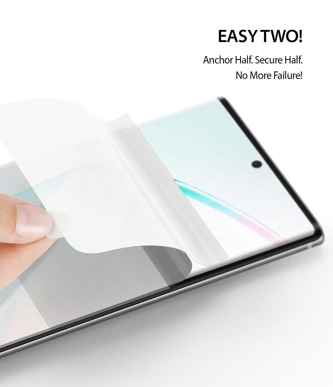 Película Ringke Dual Easy - Pack 2x - Samsung Galaxy Note 10 Plus (Tela 6.8)
