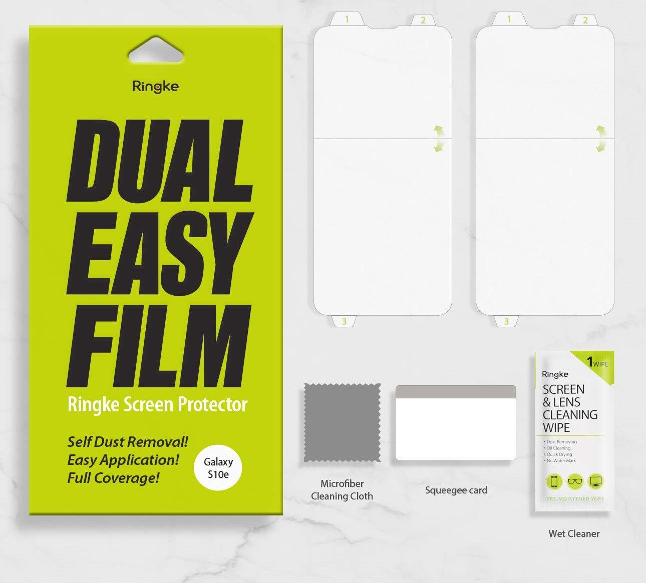 Película Ringke Dual Easy - Pack 2x - Samsung Galaxy S10e (Tela 5.8)