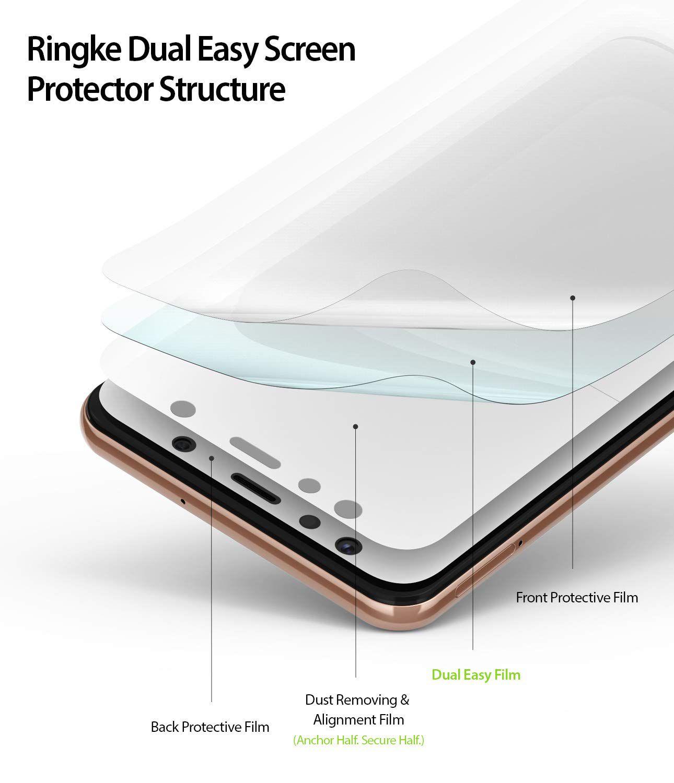Película Ringke Dual Easy - Samsung Galaxy A7 2018