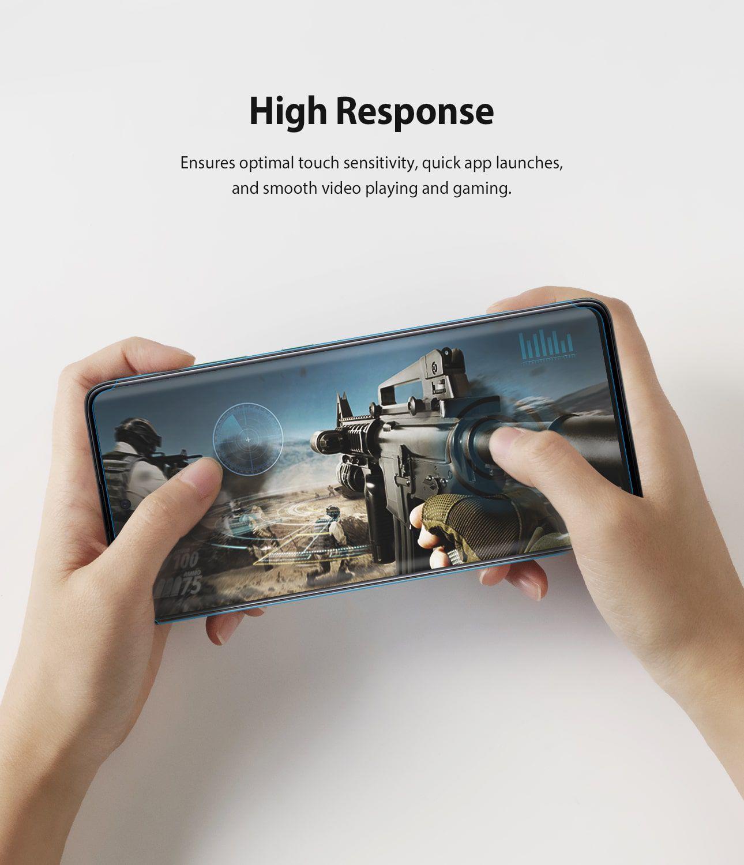 Película Ringke Dual Easy Wing Full - Samsung Galaxy A51 - Pack c/ 2 unidades