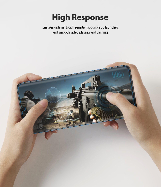 Película Ringke Dual Easy Wing Full - Samsung Galaxy S20 Ultra (Tela 6.9) - Pack c/ 2 unidades