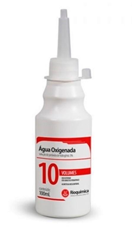 AGUA OXIGENADA 10 VOL 100 ML (KIT C/04) - RIO QUIMICA