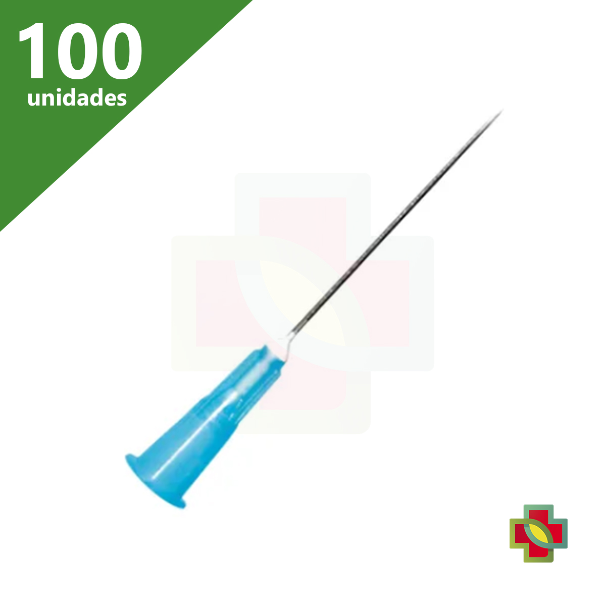 AGULHA DESCÁRTÁVEL 25 X 6,0 (C/100) SR