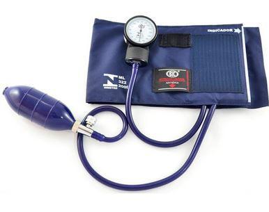 Aparelho de Pressão Adulto Ny/Velcro Azul Marinho AP0309  - BIC