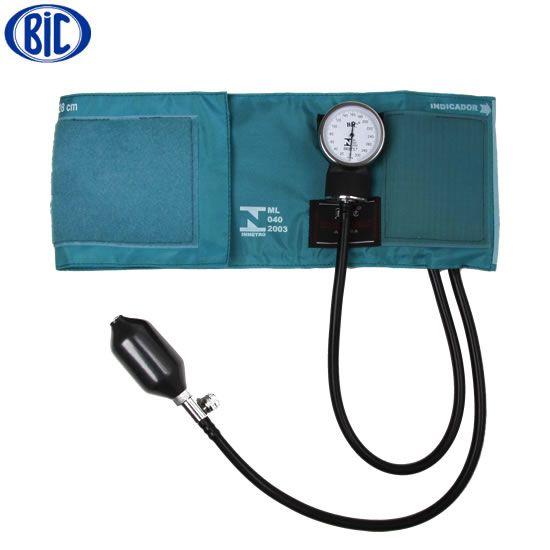 Aparelho de Pressão Adulto Ny/Velcro Verde AP0313  - BIC