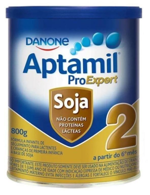 APTAMIL PRO EXPERT SOJA 2 800G (CX C/04) - DANONE