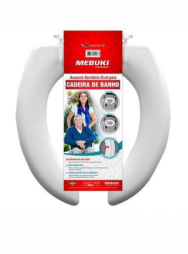 ASSENTO para cadeira higienica I e II plastico- ASS08 mebuki