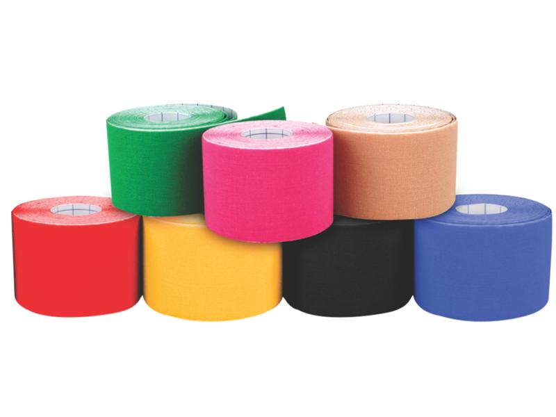 Bandagem Elástica Adesiva Amarelo 5 cm x 5 m  KP101 - Ortho Pauher