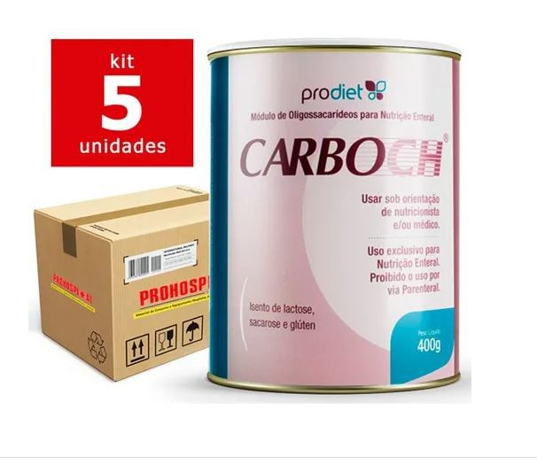 CARBOCH 400G - KIT 5 - PRODIET
