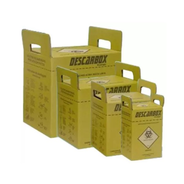 COLETOR DE MATERIAL 13,0 LTS VIVA BOX KIT (C/100) - DESCARBOX