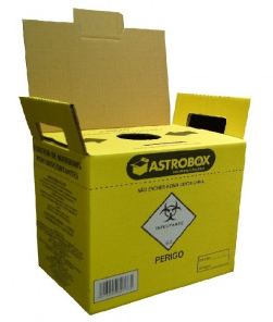 COLETOR DE MATERIAL 3,0 LTS - ASTROBOX / AMERICA MEDICAL