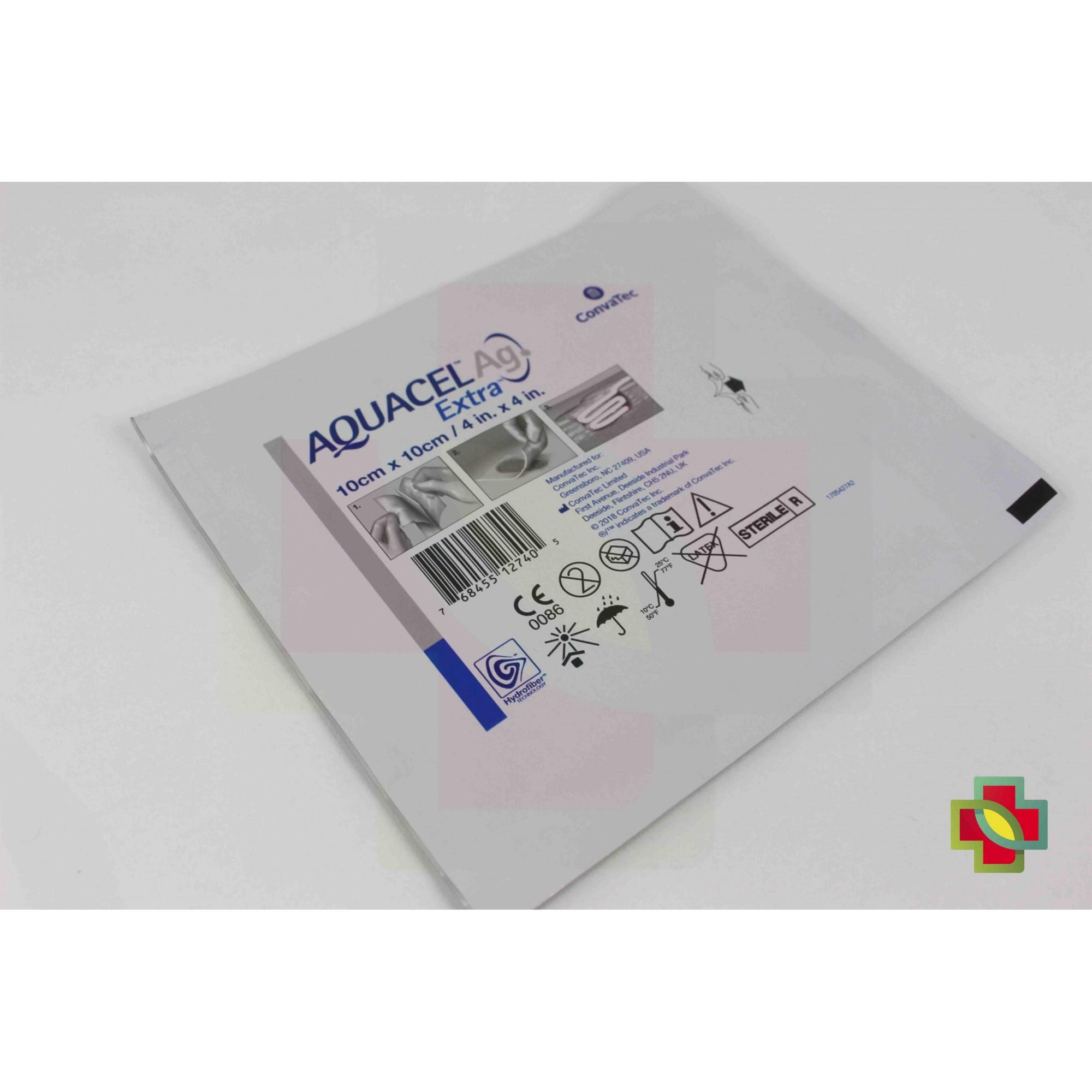 CURATIVO AQUACEL AG EXTRA 10 X 10 (KIT COM 5 UNDS.) 420676 - CONVATEC