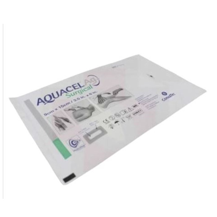 CURATIVO AQUACEL AG SURGICAL 09 X 15 UND 412010 - CONVATEC