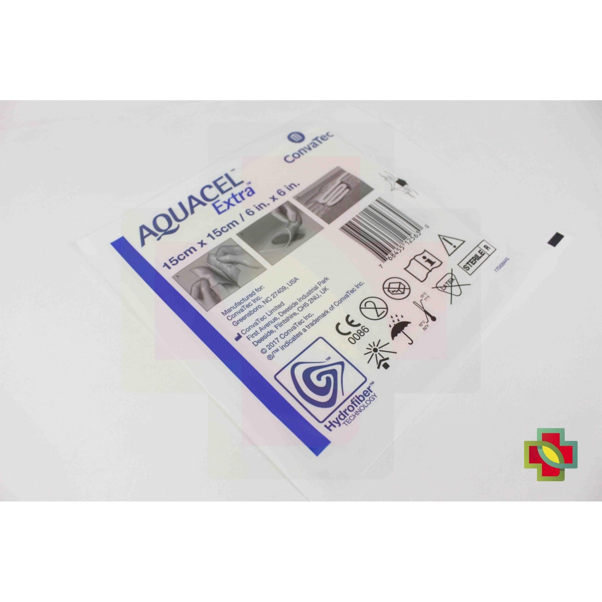 CURATIVO AQUACEL EXTRA 15 X 15 CM (C/10 UND) 420673 - CONVATEC