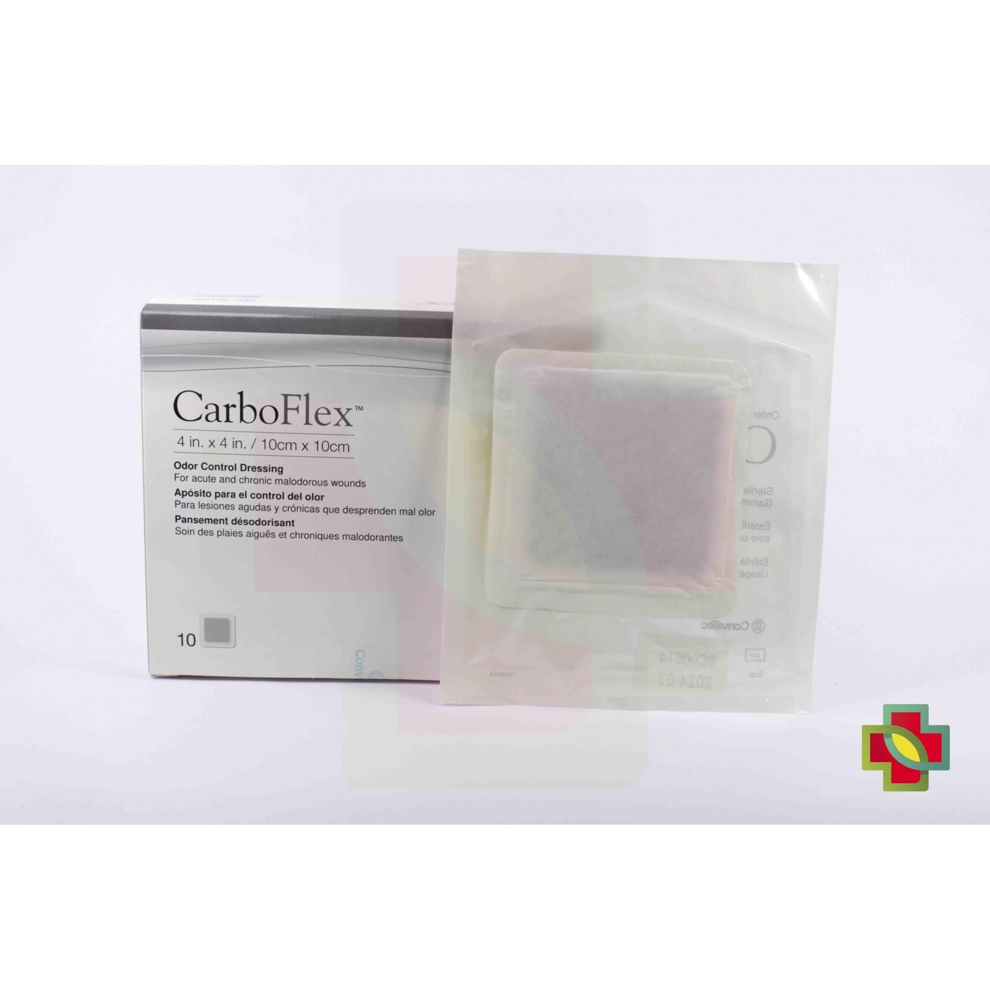 CURATIVO CARBOFLEX 10CM X 10CM UND. 403202 - CONVATEC