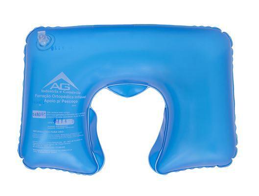 Forração (Almofada) Ortopédica Inflável Apoio para Pescoço 1011 - AG Plástico