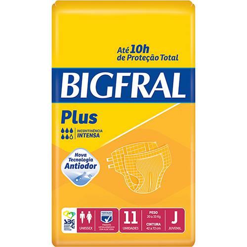 FRALDA GERIÁTRICA BIGFRAL PLUS ( TAM. J - PCT C/ 11 UNDS.) - BIGFRAL