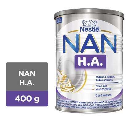 LEITE NAN HA 400G - NESTLE